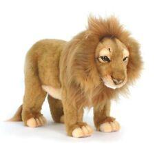 20cm Hansa Standing Male Lion Plush Cuddly Realistic Handmade Stuffed Animal Toy