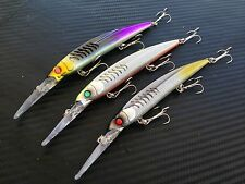 "6"" PFS Xrap Diving Trolling Bait Hardbody Fishing Lure Tuna Kingfish Minnow Fish"