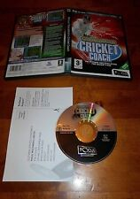 MARTIN TRESCOTHICKS CRICKET COACH PC CD ROM GAME IN NEAR MINT CONDITION