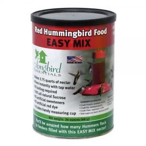 Songbird Essentials All Natural Red Hummingbird Nectar, 24 Ounce - Makes 3.75...