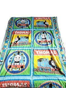 Thomas The Train Vintage Reversible Blanket Bedding Throw 52×38 Handmade Fabric