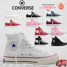 Converse All Star Low Mens & Womens Canvas Chuck Taylor Trainers Shoes WHITE