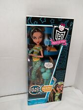 2010 Monster High 1st Release Dead Tired Cleo de Nile Doll & Accessories