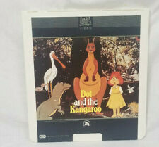 SelectaVision CED Video Disk Dot and the Kangaroo