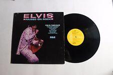 ELVIS PRESLEY Raised On Rock LP RCA APL1-0388 US 1973 VG+ EMBOSSED PROMO 12F