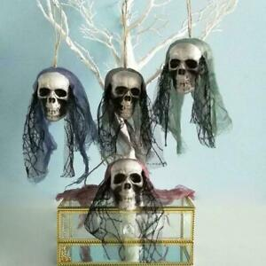 Halloween Decoration Hanging Scary Pirates Corpse Skull Haunted House Bar X6Q0