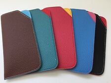 New Soft Slip In Eyeglass Case Multicolor Qty 5