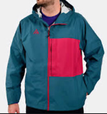 NIKE ACG 2.5L PACKABLE JACKET MIDNIGHT TURQUOISE NOBLE RED #IP124