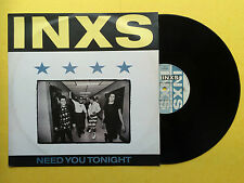 INXS - Need You Tonight, 4 Track EP, Mercury INXS-1212 Ex Condition