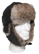 Fur Hat Leather Cap Hares Fur S-XL fur Hat Pilot Hat Shapka