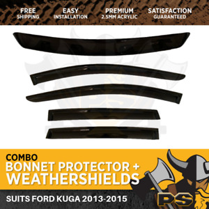 Bonnet Protector & Weathershields for Ford Kuga 2013-2015
