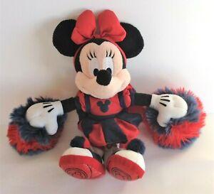 Disneyland Minnie Mouse Plush Cheerleader 28 cm Excellent Condition