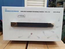 Rhode & Schwarz Shielded Chamber CTS-Z12 . Fedex Shipping