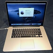 2015 Apple MacBook Pro 11.5 A1398, 2.5GHz i7 4th-Gen, 16GB LPDDR3 RAM, 512GB SSD