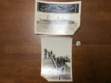 Wwi 1919 Usn Navy Uss George Washington President's Ship Wilson Photos