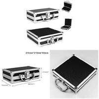 Portable Aluminium Carry Case Tool Box Storage Organizer Travel Tool Holder