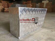 RHS Under Tray/Body Aluminium Toolbox Tool Box Storage Ute Toolboxes 750x250x400