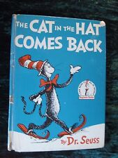 1958 The Cat In The Hat Comes Back by Dr.Seuss 1st Edition Hardcover