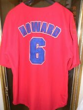 PHILLIES  RYAN HOWARD BASEBALL JERSEY  red/white/ blue  size: Extra-Large