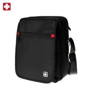 Swiss waterproof Satchel Travel Messenger Bag Daily iPad shoulder Bag SW8134A
