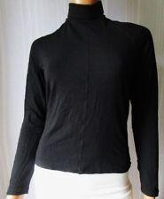***WEEKEND MaxMara T-shirt MAGLIA Tg.M colore nero, in viscosa elasticizzato