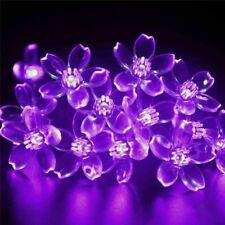 Solar String Lights Blossom Flower Fairy Christmas Lights for Outdoor Decoration