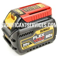 DEWALT Brand New DCB606 20/60V FLEXVOLT 60V Max 6.0 AH Battery Pack