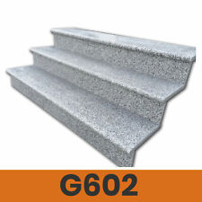 Treppenstufe G602 Stufe Granit Naturstein Trittstufe Setzstufe 100 / 120 / 150cm