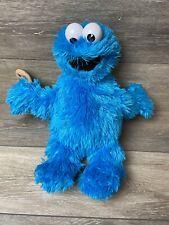 Cookie Monster Sesame Street Fisher-Price 2008 Plush 15 in