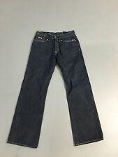 """Para Hombre G-Star Raw 'codificador recto """"Jeans-W30 L32-Azul Marino Oscuro-Excelente Estado"""