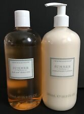 CRABTREE & EVELYN SUMMER HILL SHOWER GEL & LOTION LOT16.9 oz JUMBO SIZE NEW