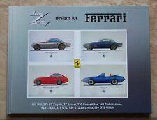 Hardcover book Zagato designs for Ferrari (not brochure)