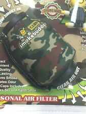 CAMO - The Original Smoke Buddy Personal Air Odor Purifier Cleaner Filter - NEW