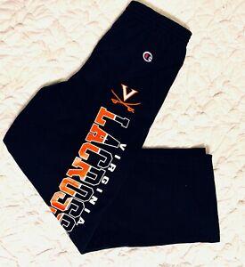 UVA University of Virginia Lacrosse Powerblend Sweatpants by CHAMPION Youth SZ M