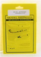 "Model Shipways Fittings MS 1181 Black Cannonballs 1/16"" (1.5mm) 40 Per Pack."