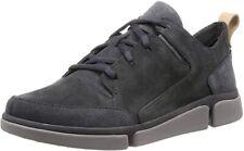 Clarks Men's Triverve Lace Low-Top Sneakers Trainer Tri Verve Shoes Grey UK 9.5