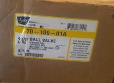 """New APOLLO 70-109-01A 2.5 """" BALL VALVE 2 & 1/2 """""""