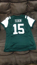 Tim Tebow youth Size M Embroidered Authentic New York Jets Jersey