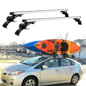 """For Toyota Prius 2010-2021 48"""" Roof Rack Top Crossbars Cargo Luggage Carrier"""