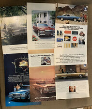 50 Vintage Print Magazine Ads Lot Chevrolet, Imperial, Boeing, Evinrude, Chinook
