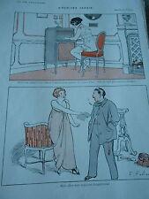 Les Lettres d'amour sont comme les armes à feu dangeureuses Print Art Déco 1913