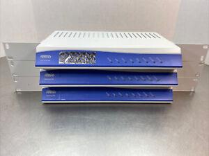 Lot Of 3 AdTran 2nd GEN Total Access 904 Business Gateway Routers 4212904L1. MBP