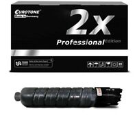 2x Pro Cartridge Black For Ricoh Aficio Mp C-401-zsp Mp C-401-spf Mp C-400-sr