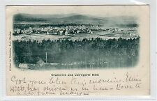 GRANTOWN AND CAIRNGORM HILLS: Morayshire postcard used August 1901 (C24088)