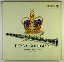 """5 x 12"""" LP - Benny Goodman - The Golden Age Of Swing - B4083 - washed & cleaned"""