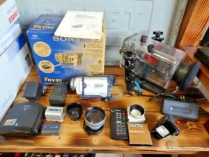 Sony Handycam Camcorder Video Camera DCR-TRV30 Nightshot Ikelite Underwater MORE