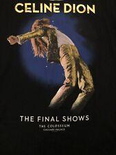 Celine Dion The Final Shows T-Shirt- Las Vegas- NEW W/TAGS