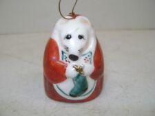 Vintage Salamander Christmas Mouse Bell 1980