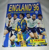 Panini : England 96 Football Sticker Album : 100% Complete