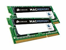 Corsair Apple Certified 16 GB 2x8 GB DDR3 1600MHz PC3 12800 Laptop Memory 1.35V